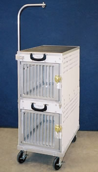 Rolling Dog Show Crates
